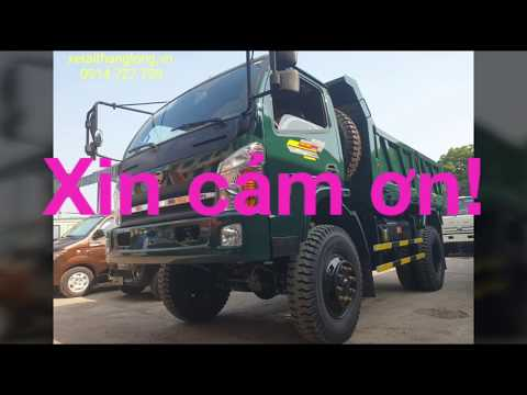 Bảng giá xe tải ben Hoa Mai. Giá luôn rẻ nhất.