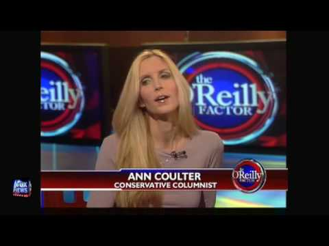 Ann Coulter On Bill O'reilly