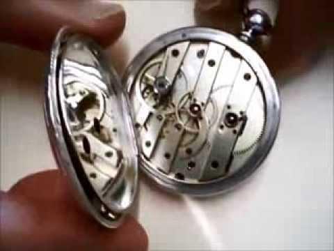 antique pocket watch w key montre de gousset a clef cylindre huit rubis 1880 georges. Black Bedroom Furniture Sets. Home Design Ideas