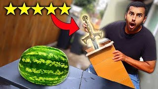 I Bought The BEST Rated WEAPONS On Amazon!!! (5 STAR)