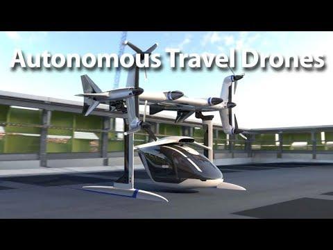 Autonomous Travel Drones - Autoline This Week 2129