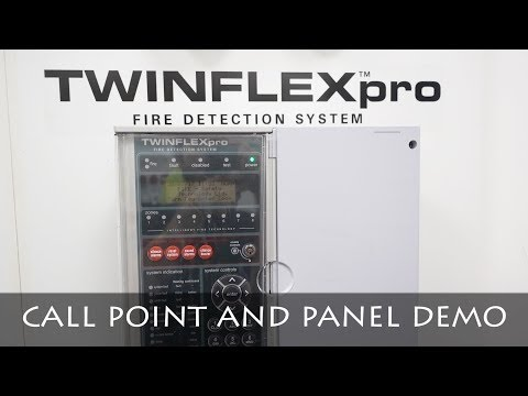 TESTING FIKE TWINFLEX PRO PANEL AND MCP | FIRE ALARM DEMO