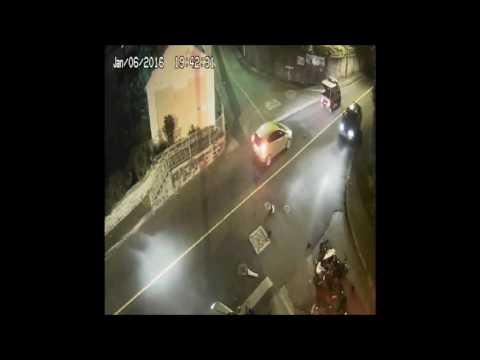 CCTV Footage Of Road Collisions, May 8 2017