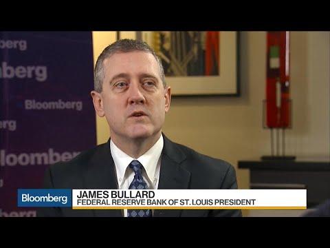Fed's Bullard Sees Chance Tax Cuts Drive Growth