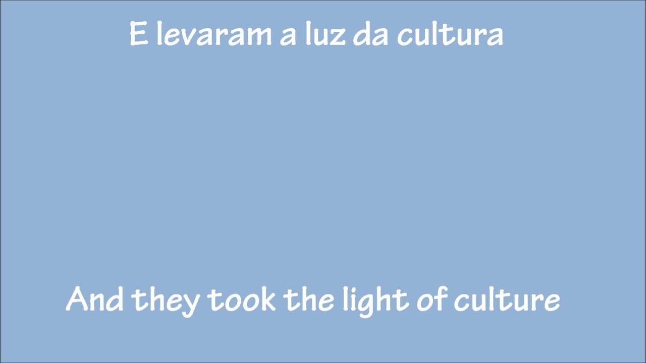 Conquistador-Da Vinci- Portuguese/English Lyrics
