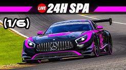 24h Spa Rennen (#1/6) | 24 Stunden Re-Live Deutsch | Let's Play Assetto Corsa Gameplay German