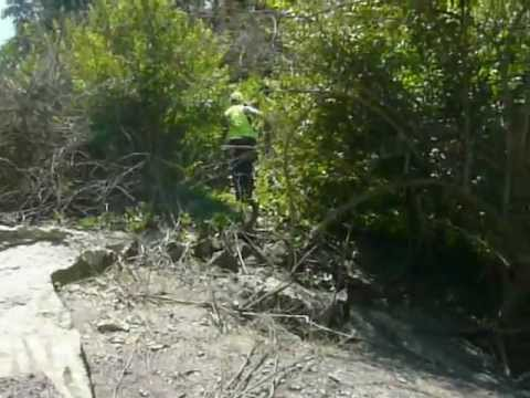 TOTALLY NARLY EASEMENT CABLE RUN IN CLEVELAND OHIO 6/26/2012 Part 9