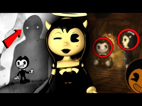 THINGS YOU MISSED! ALICE VS BENDY! | Bendy and The Ink Machine CHAPTER 3 Trailer SECRETS & THEORIES