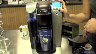 keurig platinum b70 k cup brewer unboxing and introduction