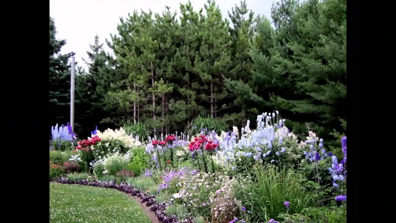 perennial flower garden designs. Perennial Garden Design  Plans YouTube