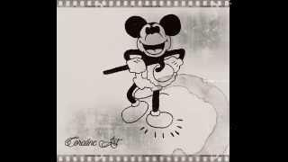 Myszka Miki / Mickey Mouse - my drawing