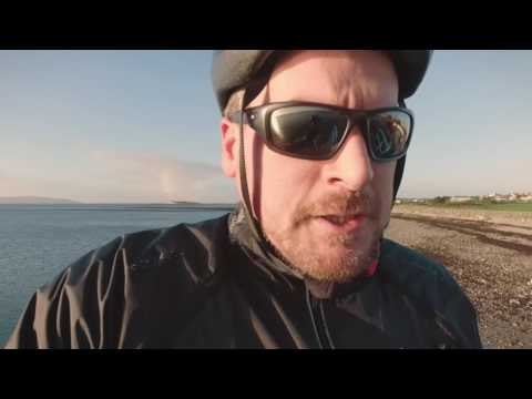 Cycling around Galway on the first morning of 2017