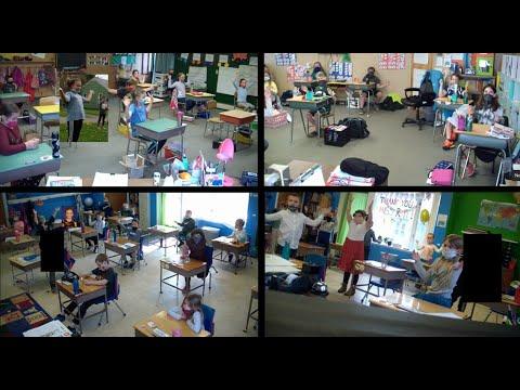 Sing Into Spring 2021 | Cortland Christian Academy | K-8th Grade & HS Choir