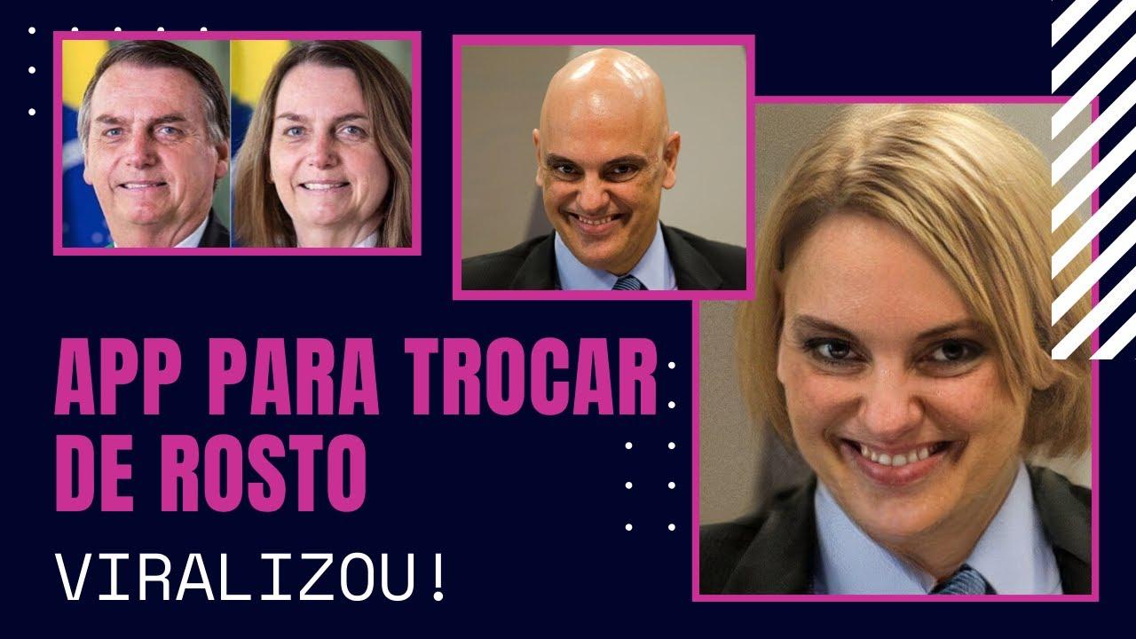 #VIRALIZOU APP PARA MUDAR O ROSTO. HOMEM/ MULHER