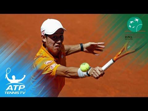 Nadal, Nishikori & Wawrinka all progress | Rome 2017 Highlights Day 4