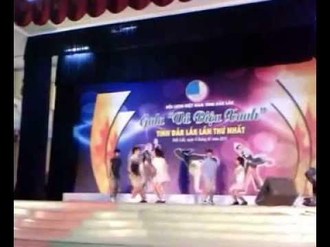 Gangnam Style Cover - Gala Vu Dieu Xanh Tinh Dak Lak