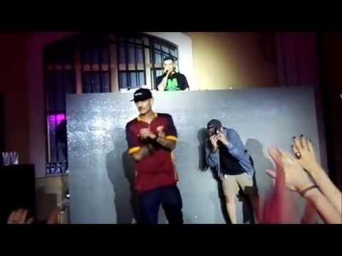 Noyz Narcos Live - My Love Song - remix finale DJ GENGIS KHAN - ROMA @ExDogana 19/06/16