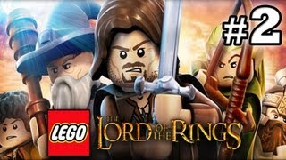 LEGO Lord of The Rings : Episode 2 - The Black Rider (HD) (Gameplay)