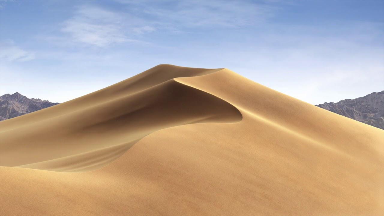 Mac OS Mojave Dynamic Wallpaper - YouTube