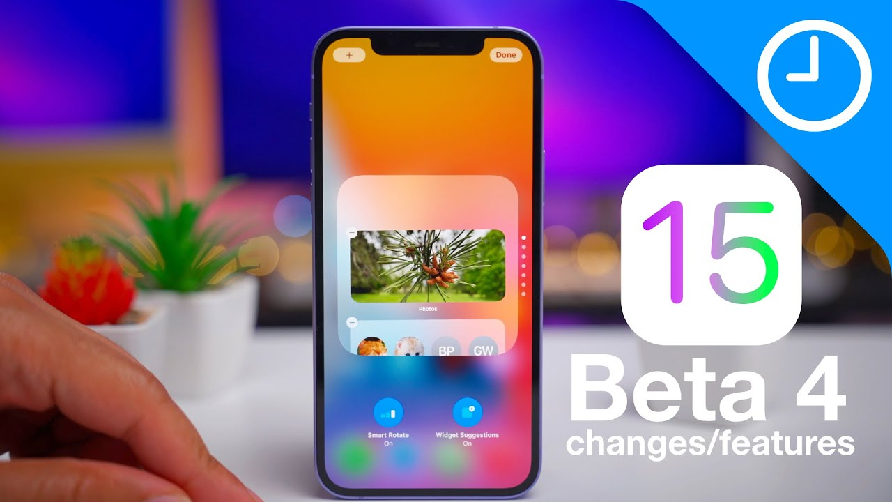 Download iOS 15 BETA 4 Changes / Features!