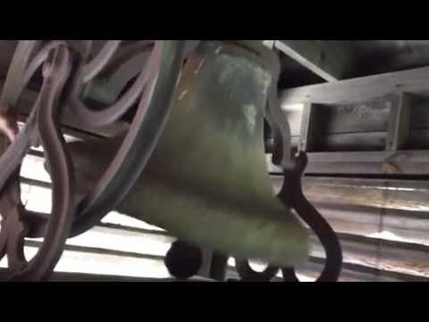 Ringing of Belle Morris Elementary School bell