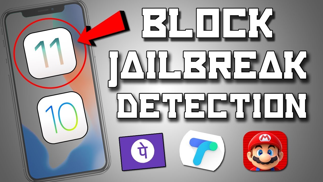How to Bypass Jailbreak Detection On ios 12 Uncover Jailbreak ✔   Run  Banking Apps & All Games