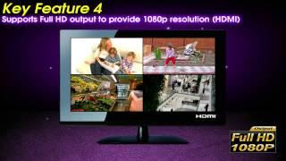 EasyLink –  умная система видеонаблюдения(Комплект видеонаблюдения EasyLink — все-в-одном Система видеонаблюдения KGuard для дома и коммерческого применен..., 2015-07-13T12:06:32.000Z)