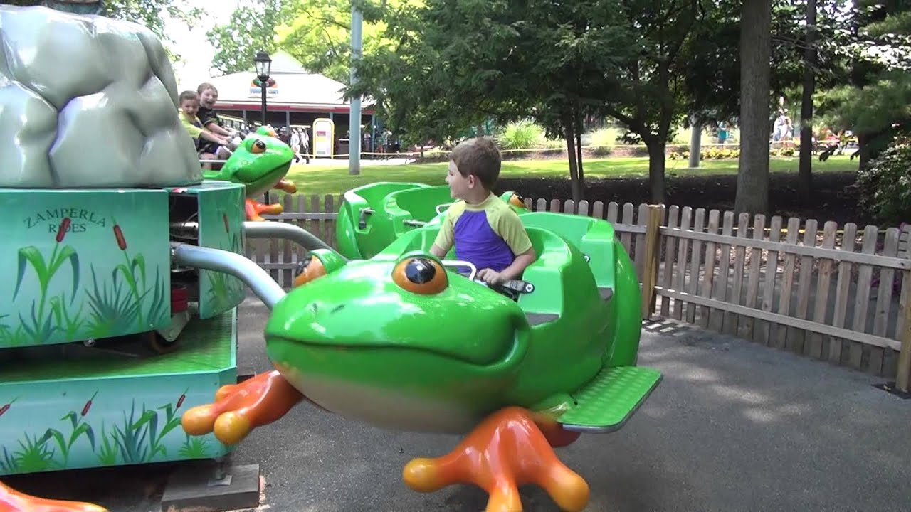 Riding the Froggy Ride at Dutch Wonderland June 23 2012 ...