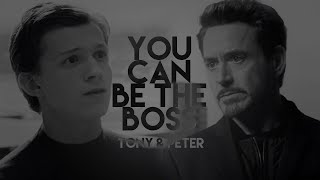 ★ 'tony 'stark x 'peter 'parker | YOU CAN BE THE BOSS [DADDY]