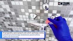 Zaimpregnuj swoją kabinę prysznicową płytki ceramiczne armaturę podczas systematycznego mycia