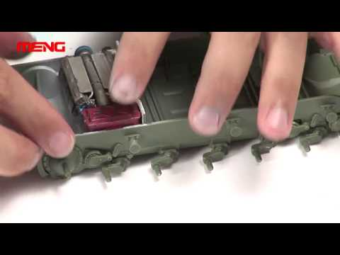 MENG Building Guidance Video for TS-006 1/35 Russian T-90A MBT model kit