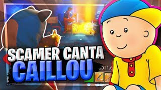 SCAMEO to SCAMER THAT SINGS CAILLOU! - Fortnite Save the World