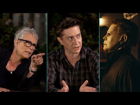 'Halloween'  Breakdown 1978 vs. 2018 with Jamie Lee Curtis & David Gordon Green