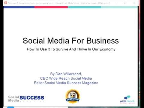 Social Media for Business: How to Use it to Survive and Thri