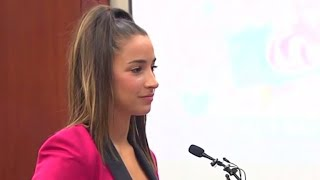 Olympic gymnast Aly Raisman speaks about abuse at Nassar sentencing