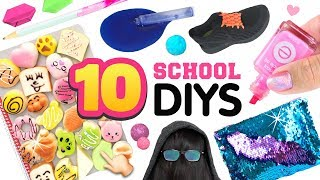 10 School HACKS, PRANKS & DIYS!! 5-Minute DIY Ideas, Life Hacks for Back To School!
