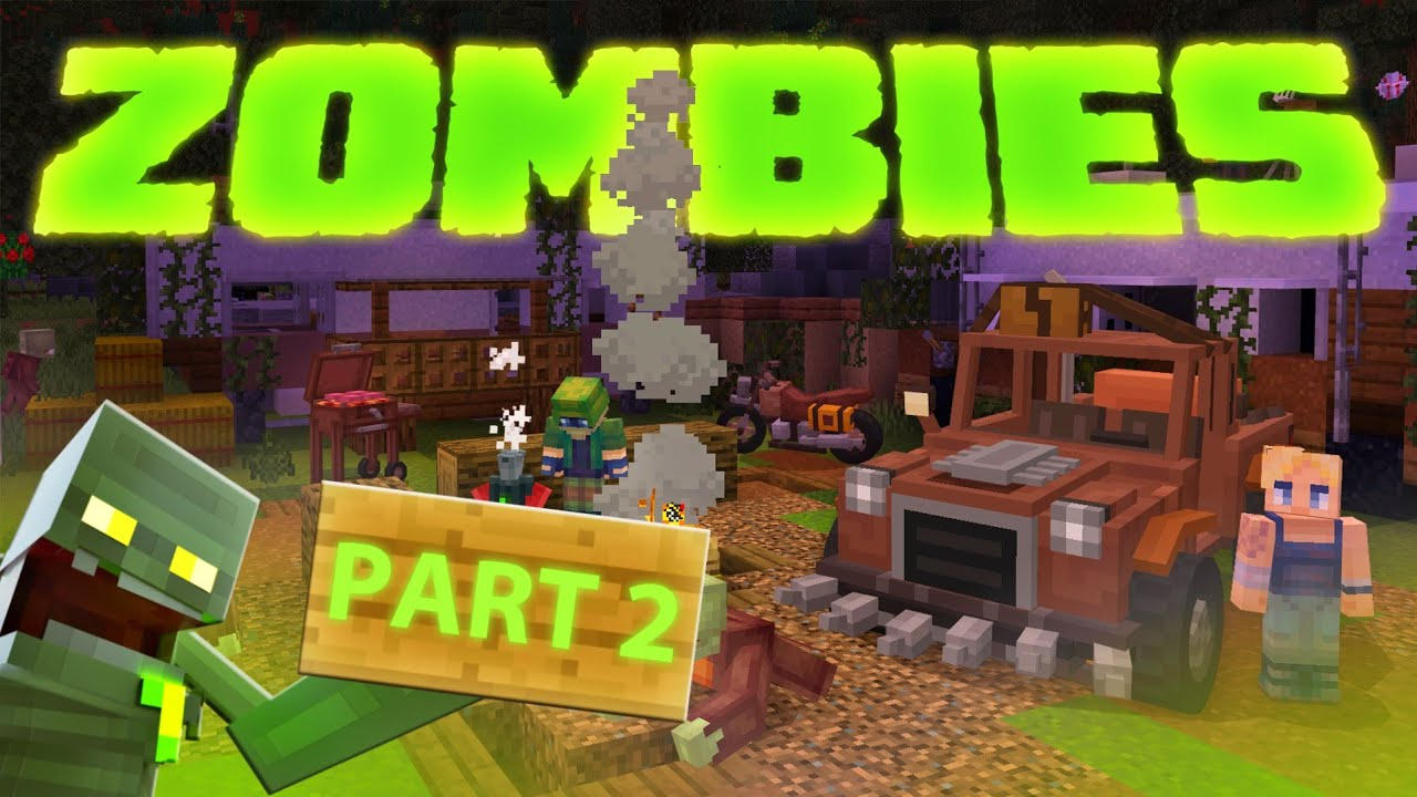 Biggest ZOMBIE APOCALYPSE in Minecraft! - Zombies Marketplace Map