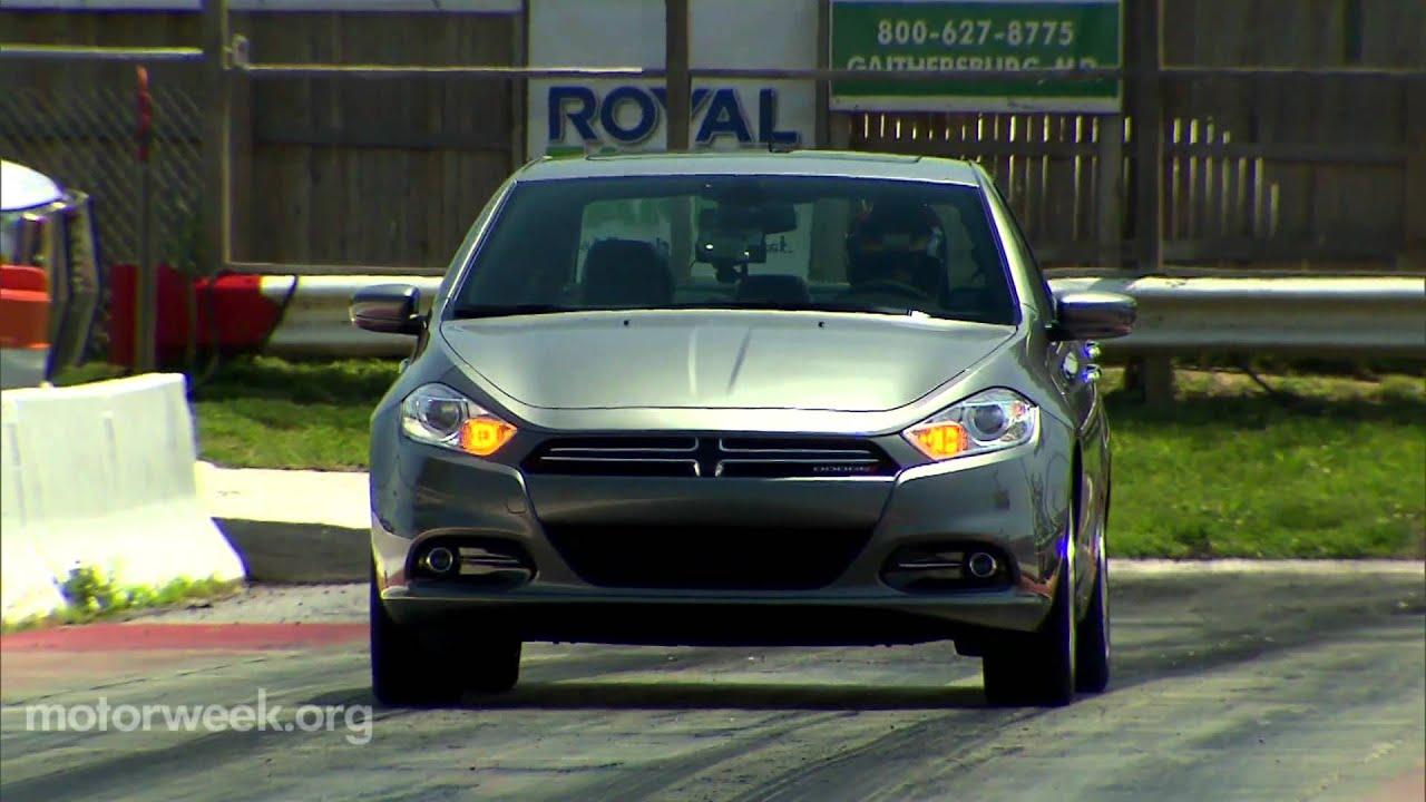 Road Test 2013 Dodge Dart Youtube