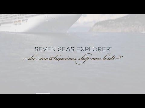 Круизный лайнер Seven Seas Explorer - Inside the World's Most Luxurious Ship