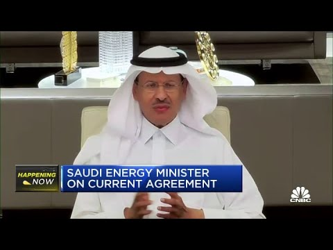 Saudi Energy Minister Abdulaziz bin Salman on current oil agreement