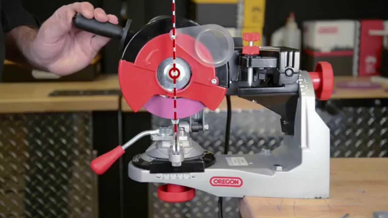Oregon 520 120 Bench Chainsaw Chain Grinder Installation