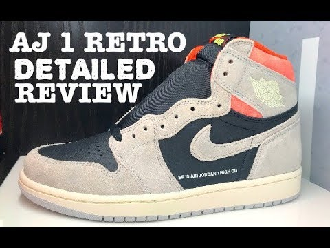 2157b4edc7b8 Air Jordan 1 SP19 High OG Retro Hyper Crimson Sneaker Detailed HONEST  Review -!  SNEAKERHEAD  SHOES