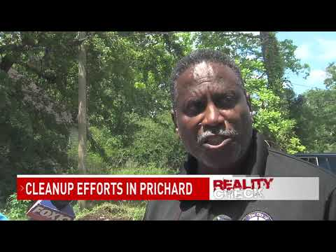 City of Prichard taking back community hotspot for illegal dumping - NBC 15 WPMI