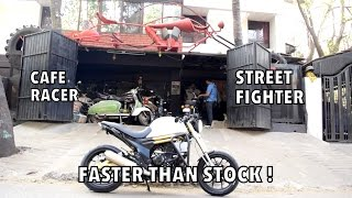 BEST MODIFIED MOJO : STREET FIGHTER & CAFE RACER : 18K SPECIAL