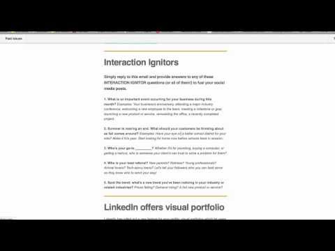 Interaction Ignitor Emails | A Status Flow Production