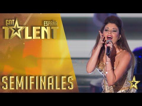 Cristina Ramos, ¡ya es una estrella! | Semifinales 3 | Got Talent España 2016