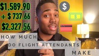 How much do Flight Attendants make? | Flight Attendant Chronicles | Vlog 8