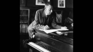 Morceaux de fantaisies (5), Op. 3: no 4, Polichinelle in F sharp minor by Sergei Rachmaninov