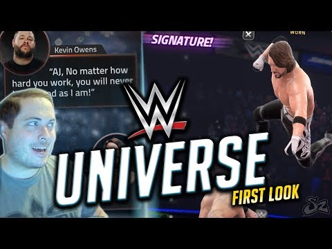 NEW WWE GAME! STORY MODE & FIRST GAMEPLAY! | WWE Universe