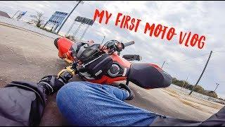 My First Moto Vlog
